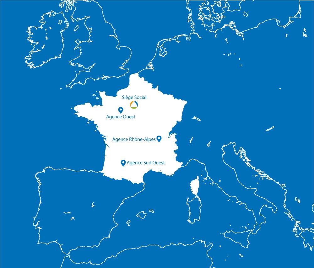 map APLUS SA