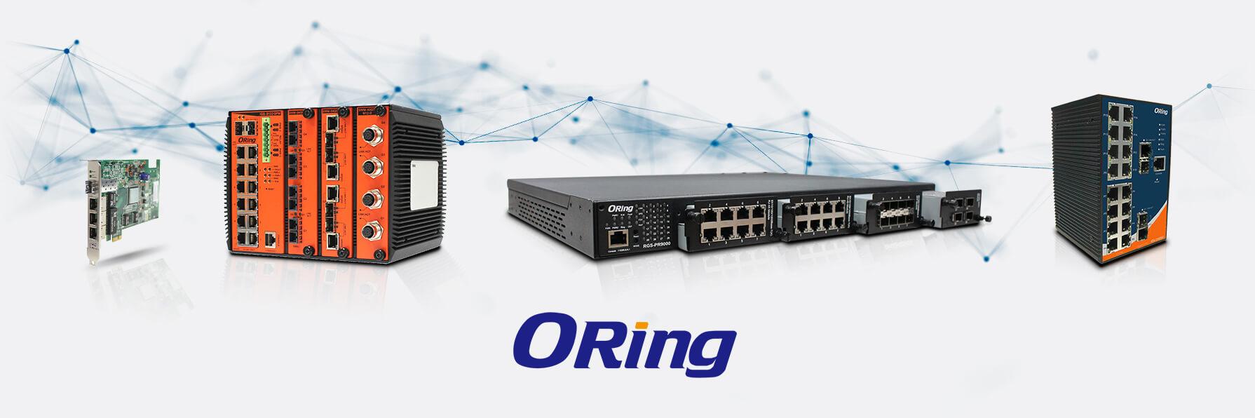 Les solutions réseaux d'Oring
